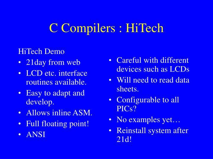 HiTech Demo