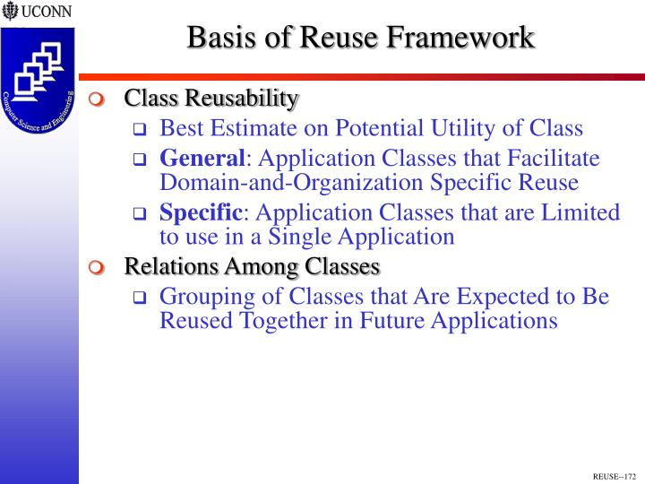 Basis of Reuse Framework