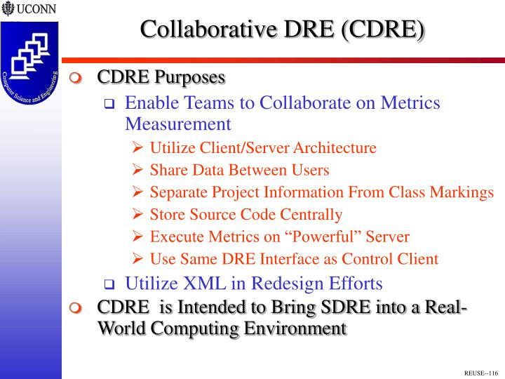 Collaborative DRE (CDRE)