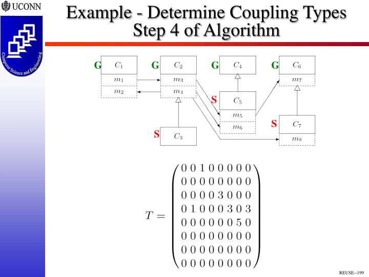 Example - Determine Coupling Types
