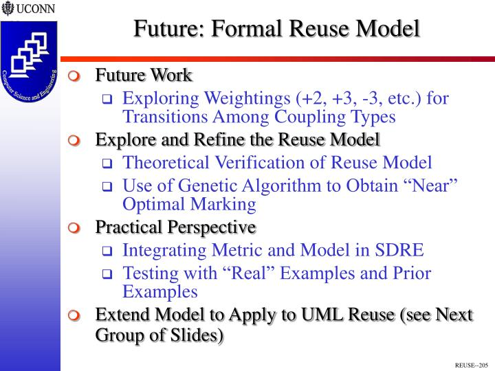 Future: Formal Reuse Model