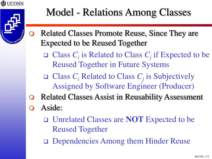 Model - Relations Among Classes