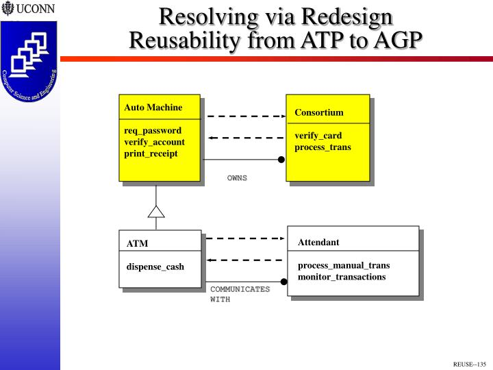 Resolving via Redesign