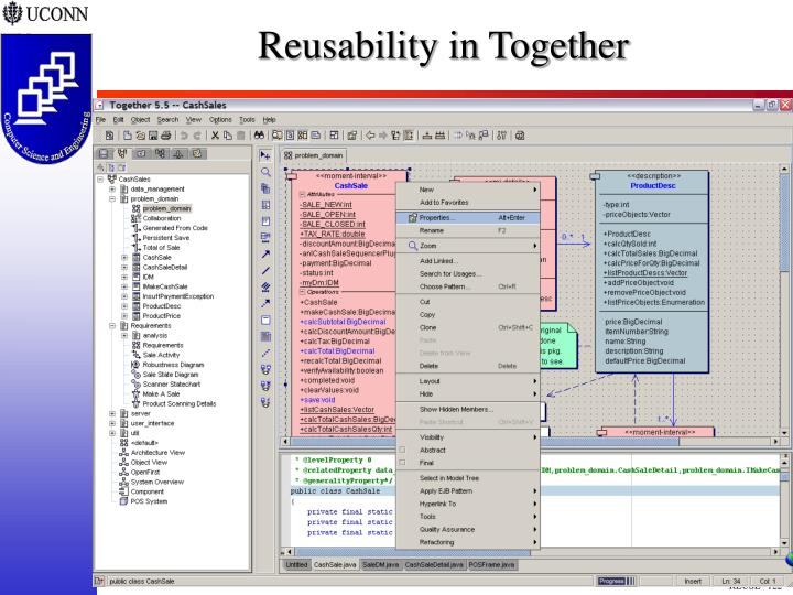 Reusability in Together