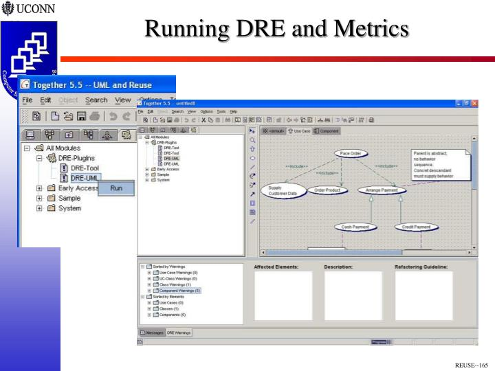 Running DRE and Metrics