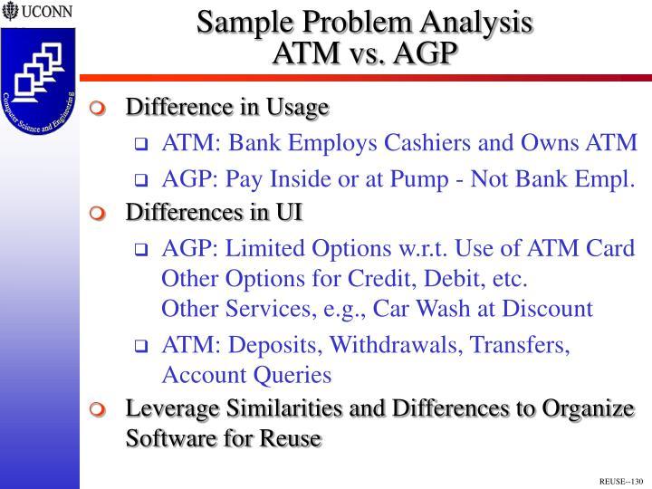 Sample Problem Analysis