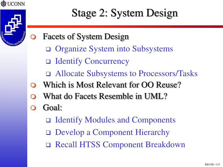 Stage 2: System Design