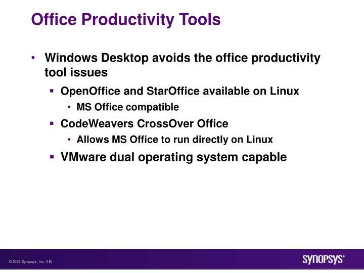 Office Productivity Tools