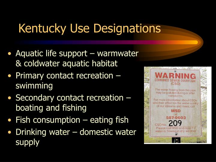 Kentucky Use Designations