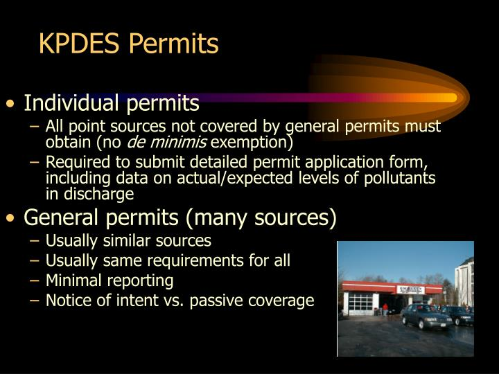 KPDES Permits