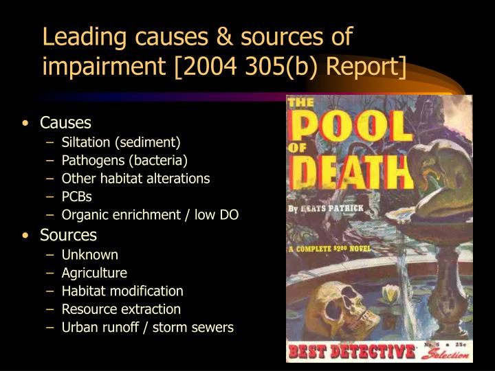 Leading causes & sources of impairment [2004 305(b) Report]