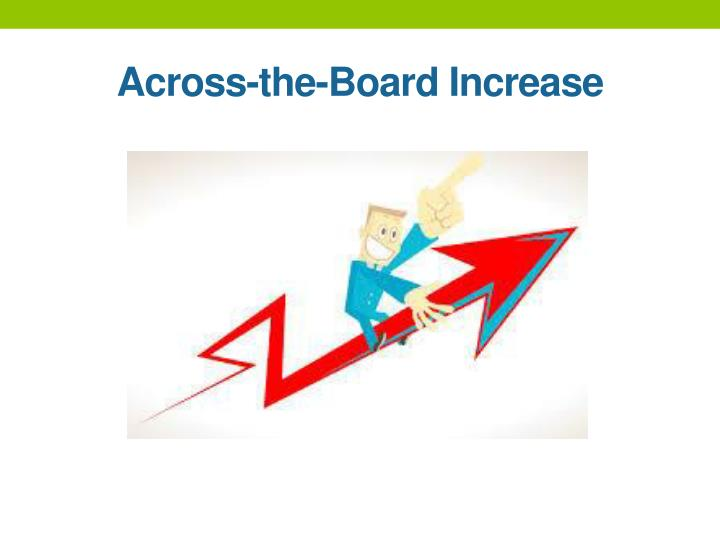 Across-the-Board Increase