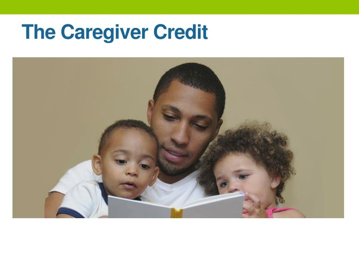 The Caregiver Credit
