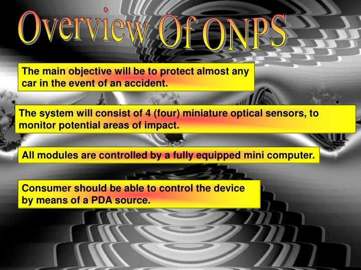 Overview Of ONPS