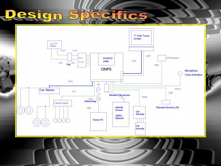 Design Specifics