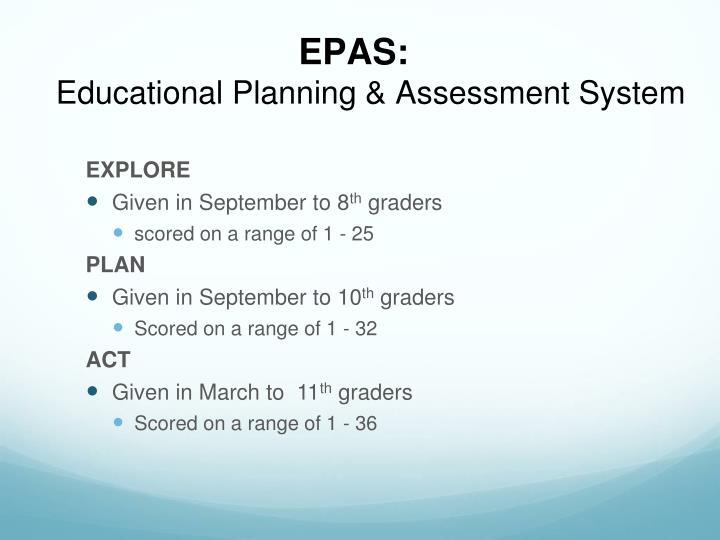 EPAS: