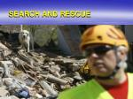 search and rescue1