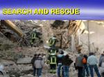 search and rescue2