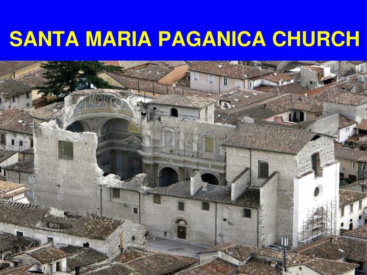 SANTA MARIA PAGANICA CHURCH