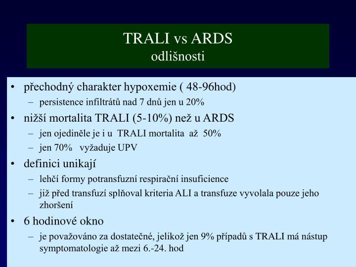 TRALI vs ARDS