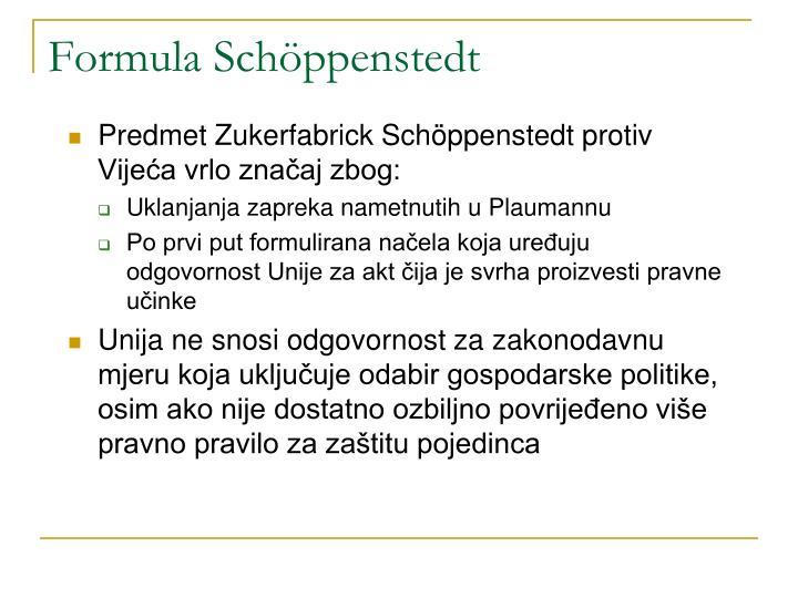 Formula Schöppenstedt