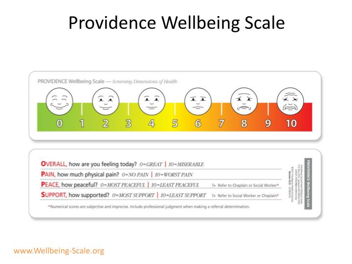 Providence Wellbeing Scale