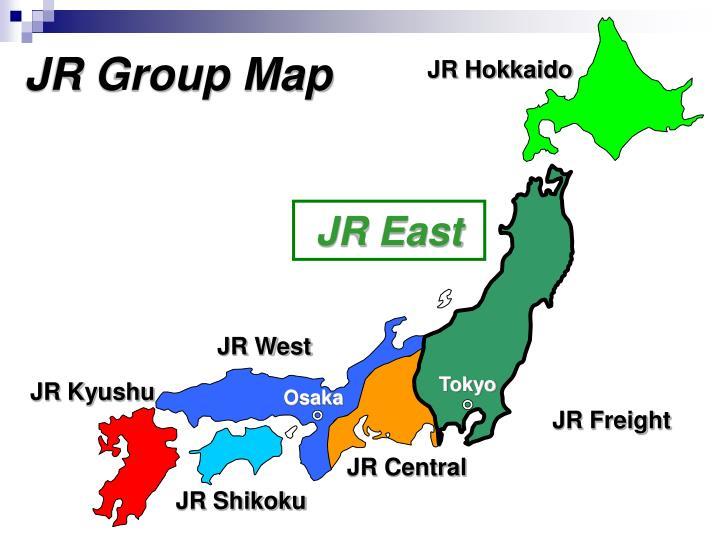 JR Group Map