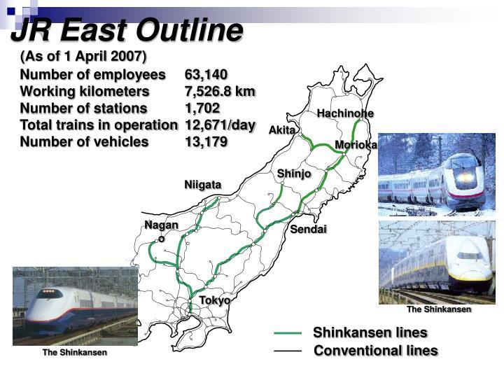 JR East Outline