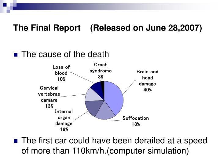 The Final Report    (Released on June 28,2007)