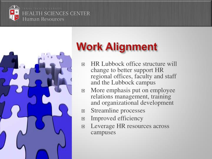 Work Alignment