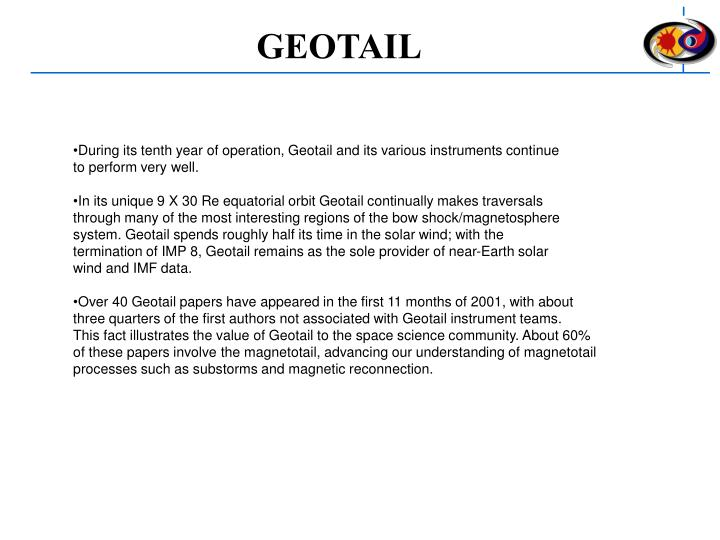 GEOTAIL