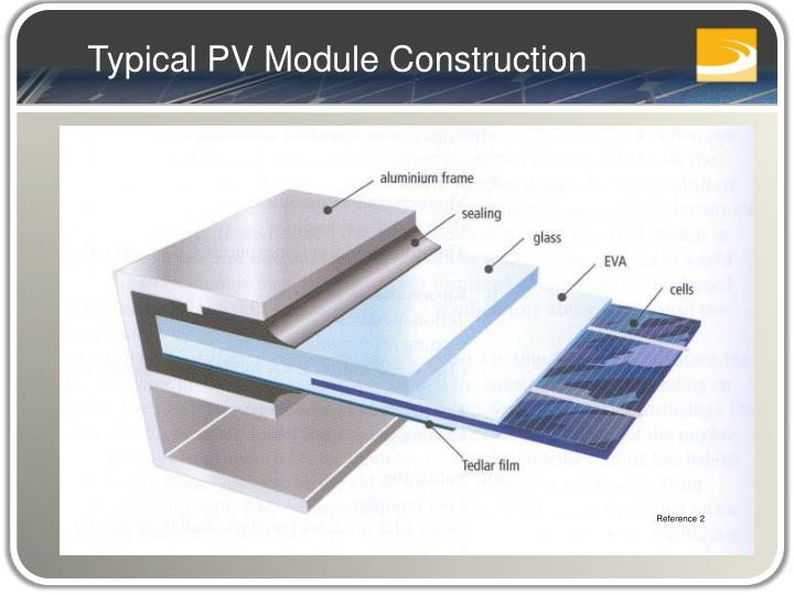 Typical PV Module Construction