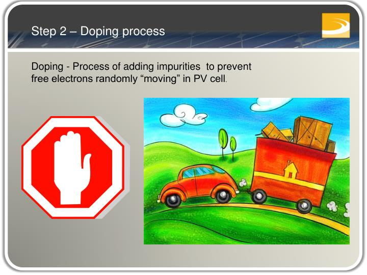 Step 2 – Doping process
