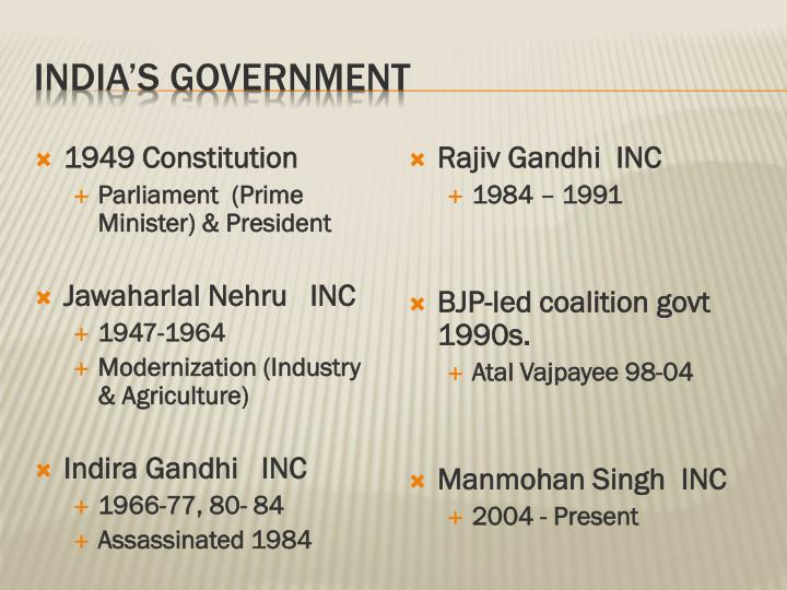 India's Government
