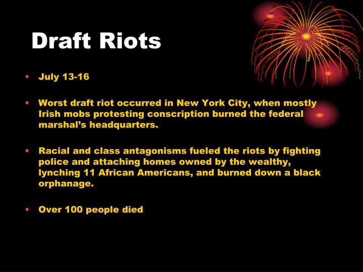 Draft Riots