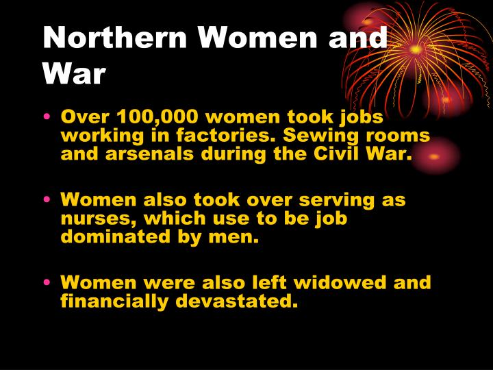 Northern Women and War