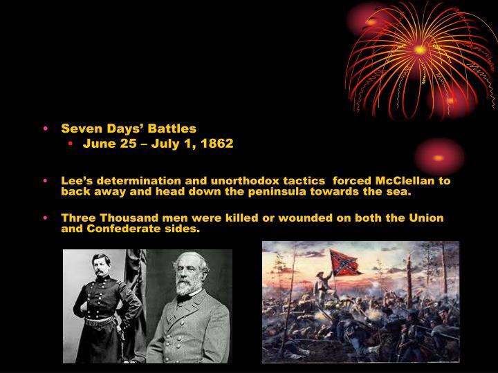 Seven Days' Battles