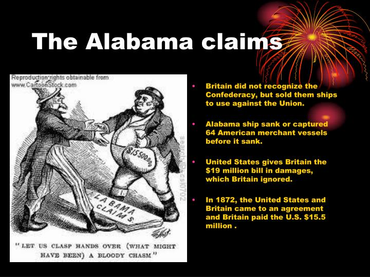 The Alabama claims
