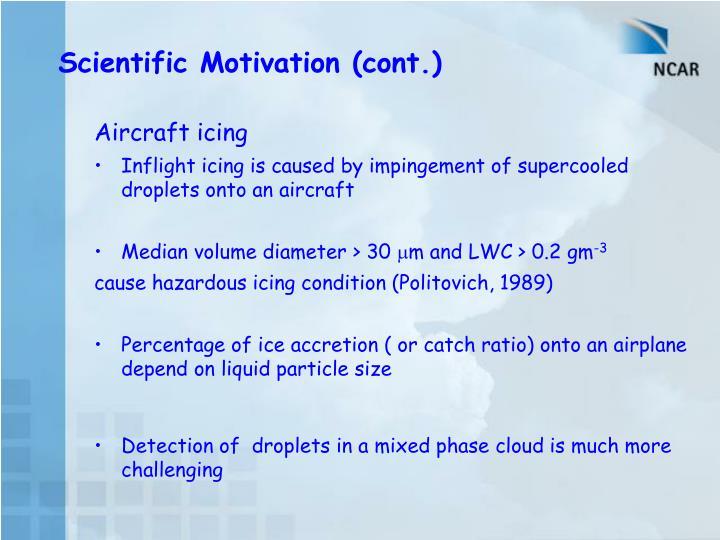 Aircraft icing