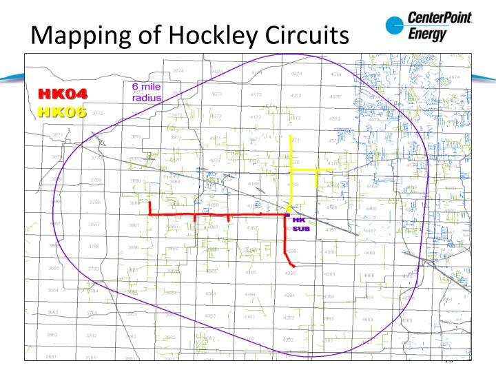 Mapping of Hockley Circuits