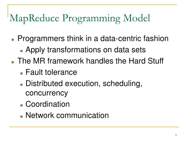 MapReduce Programming Model