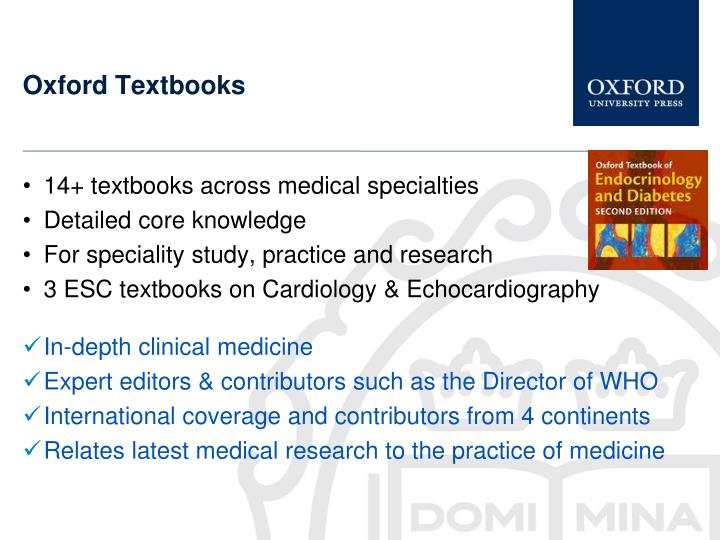 Oxford Textbooks