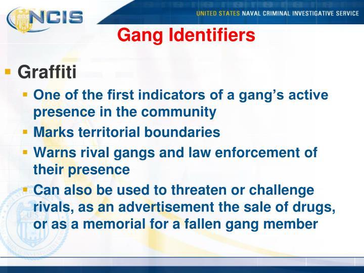 Gang Identifiers
