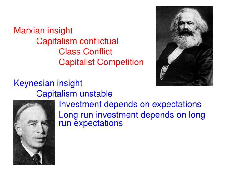 Marxian insight