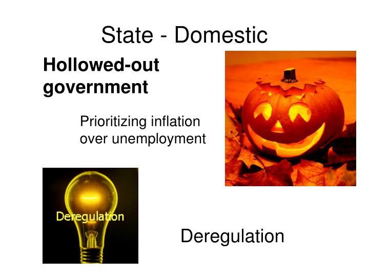 State - Domestic