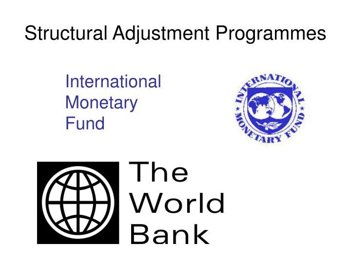 Structural Adjustment Programmes
