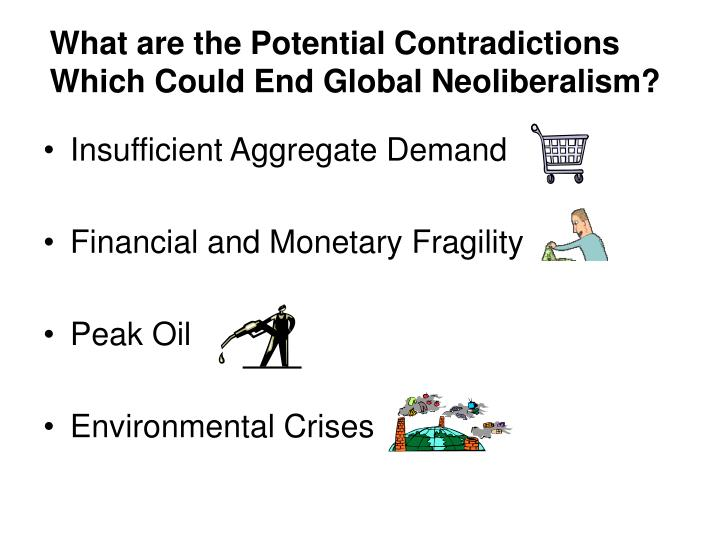 What are the Potential Contradictions Which Could End Global Neoliberalism?