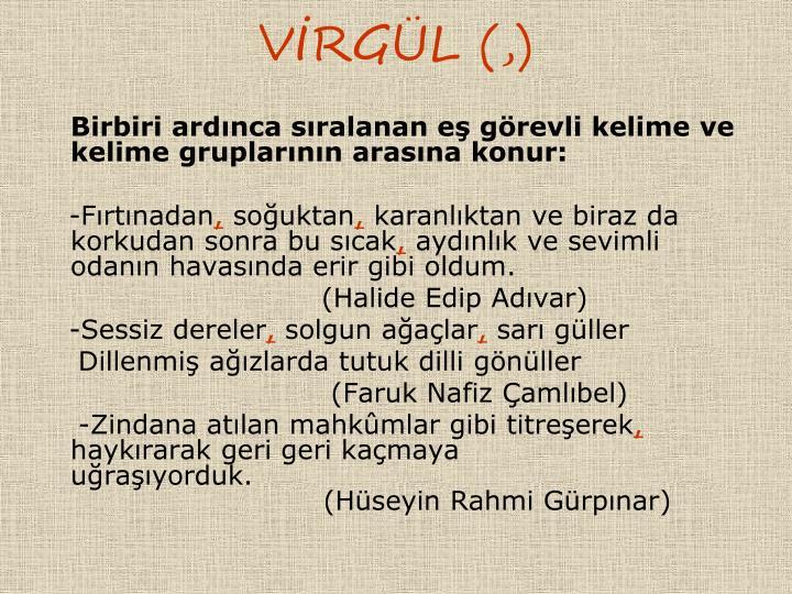 VRGL (,)