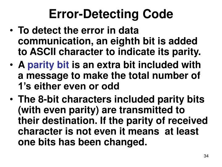 Error-Detecting Code