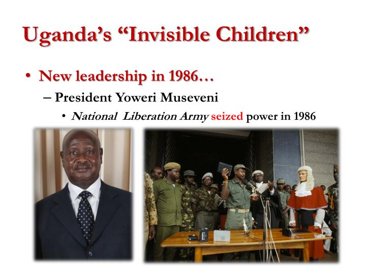 "Uganda's ""Invisible Children"""